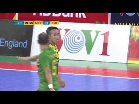 Giải futsal VĐQG 2019: Sanna Khánh Hòa vs Thái Sơn Bắc (4-4)