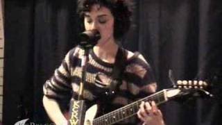 St Vincent Performing The_Strangers On KCRW