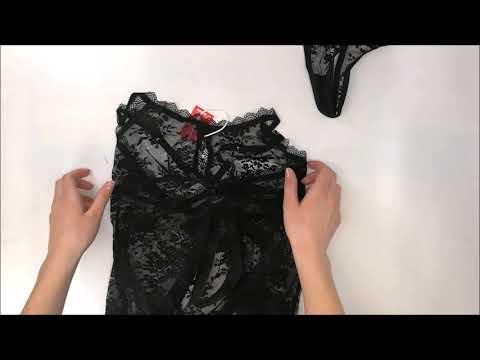 Romantická košilka Behindy babydoll - Obsessive