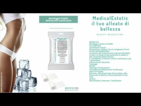Bendaggio freddo al mentolo conf. 6 pz