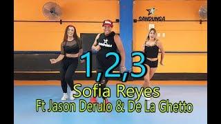 1, 2, 3   Sofia Reyes Ft Jason Derulo & De La Ghetto  Coreografía #Zumba