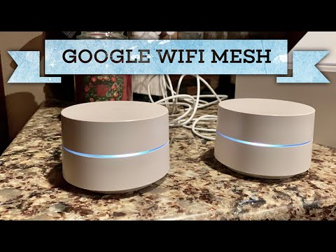 Google WiFi Home Mesh Network Router Setup and Review