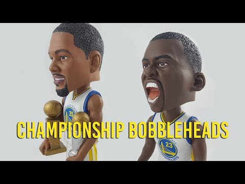 Golden State Warriors preseason bobbleheads