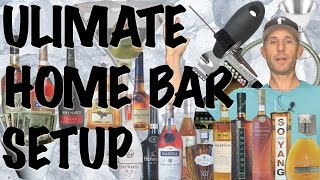 How to Set up the Ultimate Home Bar - Bartending Pro