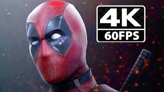 Deadpool All Cutscenes & Funny Moments Game Movie