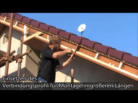 Dielenbretter - Kunststoffdielenbretter zur Täfelung ohne Instandhaltung - Montage video