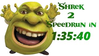 Shrek 2 (Console - GCN) Speedrun in 1:35:40