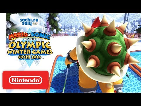 Mario & Sonic at the Sochi 2014 Olympic Winter Games - Launch Trailer thumbnail