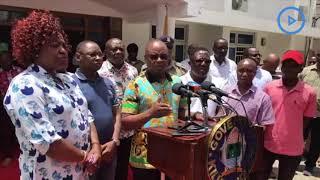 Arrest police officers who aided Jumwa: Kingi