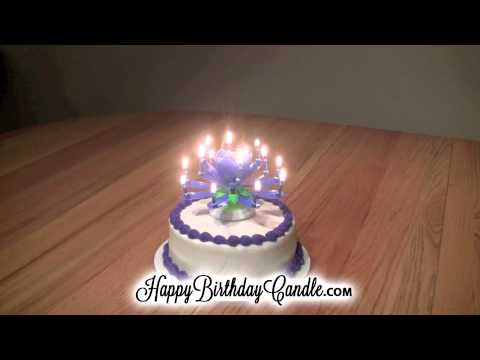 Transforming Candle On Your Birthday Cake Proves Your Family Loves You
