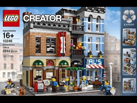 LEGO Designer Videos 2014 Detective's Office (10246)