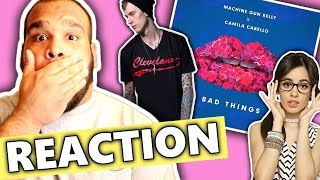 Download Video Machine Gun Kelly, Camila Cabello - Bad Things [REACTION]