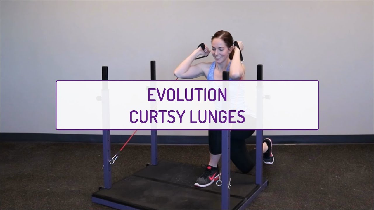 Evolution Curtsy Lunges