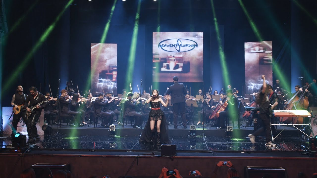"""The Best (Tina Turner)"" performed by Heaven's Guardian & Youth Symphonic Orchestra of Goiás."