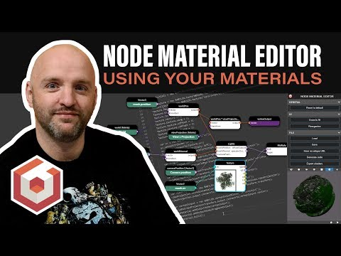 Use Your Node Material in your code