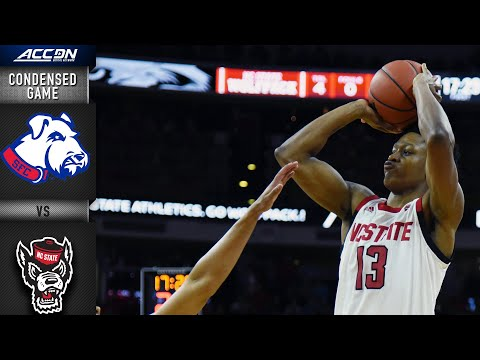 St. Francis (BKN) vs. NC State  Condensed Game | 2019-20 ACC Men's Basketball