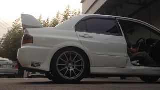 EVO9 LAUNCH CONTROL ANTILAG FIRE FLAME ランエボⅨローンチコントロールアンチラグ 日本車