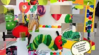 Hungry Caterpillar Themed Birthday