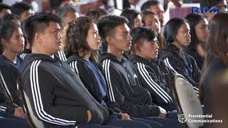 Send-Off Ceremony for the 18th Asian Games Delegation (Speech)  08/13/2018