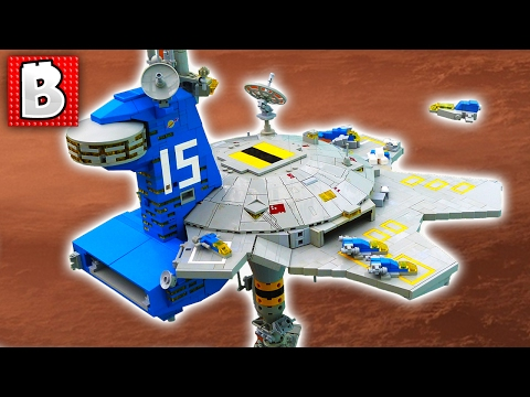 Awesome LEGO Space Station!!! TOP 10 MOCs | Weekly MOC News