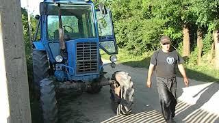 Почему ведёт диск сцепления МТЗ-82? Как расоеденить трактор МТЗ.