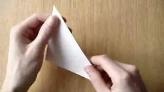 Как сделать хлопушку из бумаги (обучающее видео)