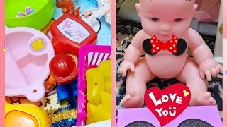 baby doll daily routine # play time #baby doll sleep eat take bath # kainat and baby izhan show