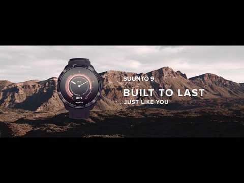 Suunto 9 Baro Titanium Ambassador Edition + Silicone Strap (50mm, Polyamid)