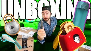 """UNBOXING Items I Bought From """"Buying Every Advertisement!"""" (PART 1)"""