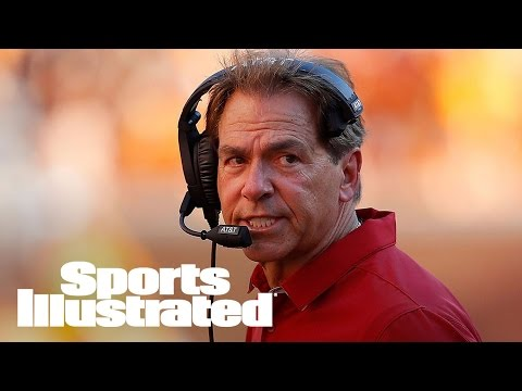 Alabama Coach Nick Saban Lights Up Media In Rant | SI Wire | Sports Illustrated