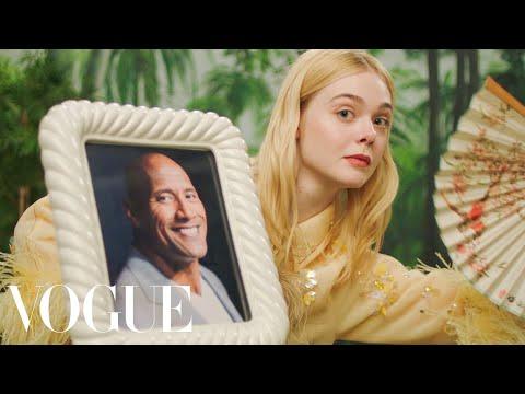 Vogue Ad 'Fan Fantasy'