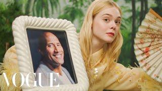 Эль Фаннинг, Elle Fanning's Fan Fantasy | Vogue