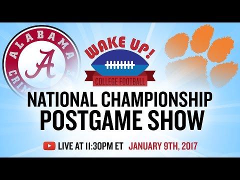 National Championship Postgame Show 2017: Alabama vs Clemson