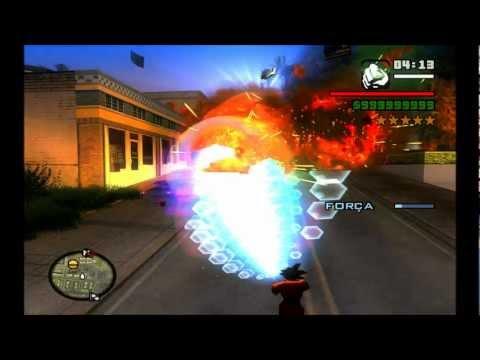 DRAGON BALL SKIN (GOKU) GTA SAN ANDREAS BRASIL (BRAZIL)FULL HD 1080p ...