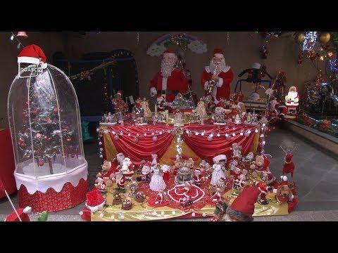 Decoração de Natal é destaque em comércios e casas