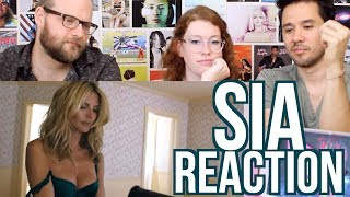 SIA - Fire Meet Gasoline - Music Video REACTION - Heidi Klum