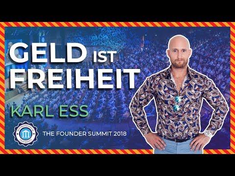 , title : 'GELD ist FREIHEIT - Karl Ess - Founder Summit 2018 | Entrepreneur University
