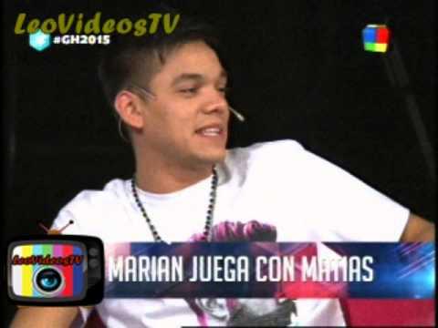 Marian quiere jugar con Matias GH 2015 #GH2015 #GranHermano