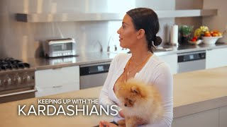 KUWTK | Kim Kardashian Refuses To Return Kourtneys Dog | E!