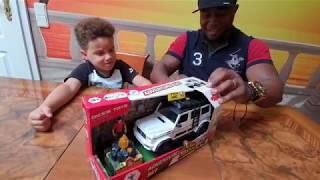 Unboxing Adventure Set Dickie Toys Mercedes Benz AMG - Sam´s Spielzeugwelt
