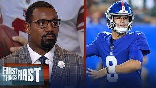 Daniel Jones shouldn't start Week 1 — despite preseason hot start - Canty | NFL | FIRST THINGS FIRST