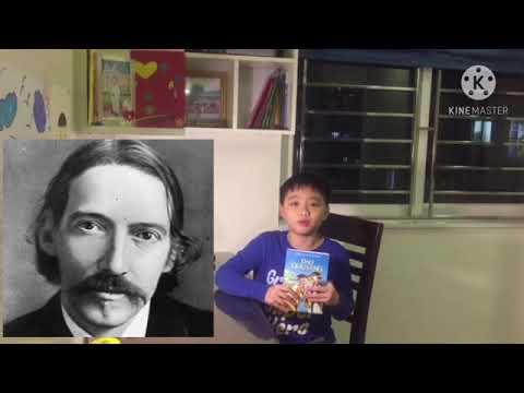 """MS 18: Nguyễn Hải Long - Lớp 5A7 TH Kim Đồng, Ba Đình. Giới thiệu sách """" Đảo giấu vàng"""""""