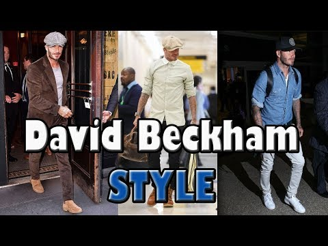 David Beckham Fashion Style 2017-2018 Mp3