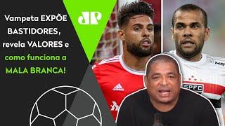 Vampeta abre o jogo: 'É certeza que vai ter mala branca para o São Paulo, e eu sei quanto cada um vai ganhar'