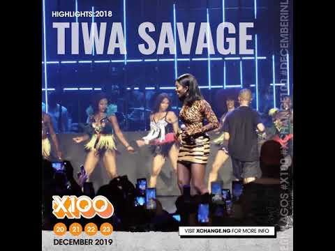 Tiwa Savage and Wizkid performing 'Malo' | Xchange 2018 Highlight