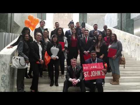 SJU Visits Albany to Stand Up for Student Aid!