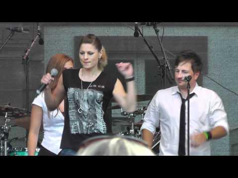 Brass Machine   Blame it on the boogie   auf dem Emmes  Saarlouis 2012