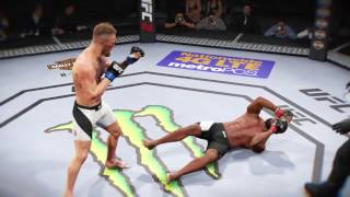 UFC 2 ONLINE McGregor vs Woodley - INSANE KNOCKOUT -