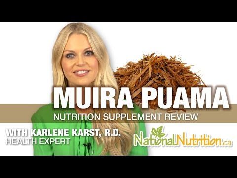 Professional Supplement Review - Muira Puama