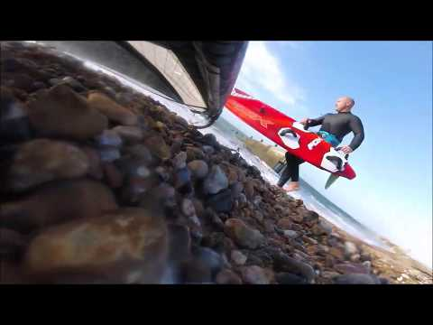 Severne Fox 105 2018 windsurf board testing – Windsurfing UK Magazine